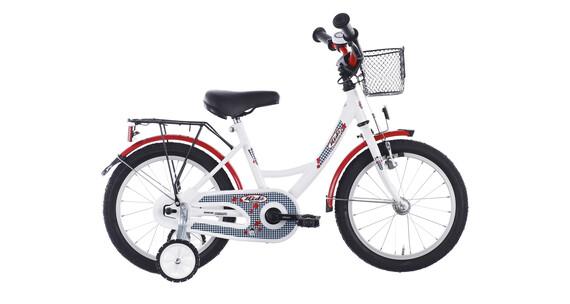 Vermont Karo - Vélo enfant 16 pouces - blanc/rouge